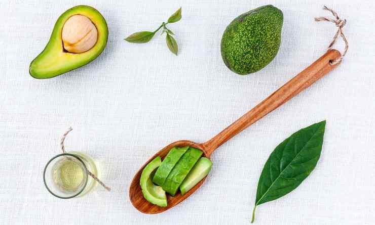 preparazione avocado