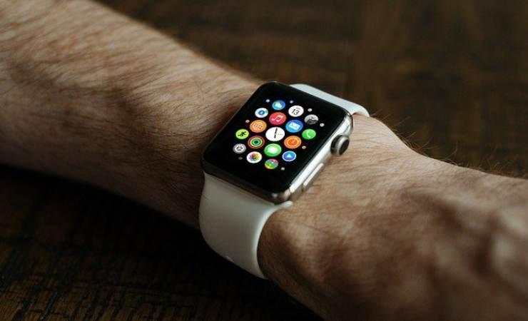 pulire apple watch
