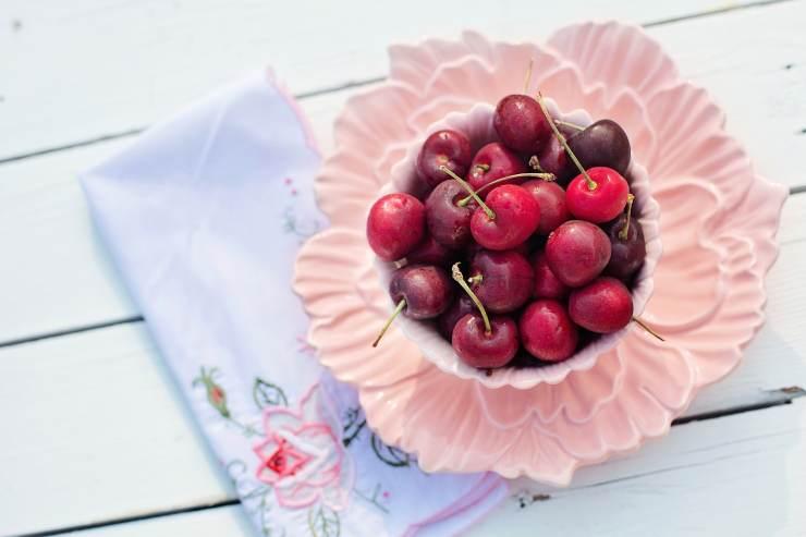 granita alle ciliegie