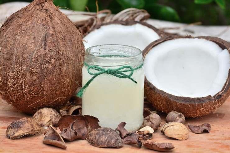 trattamento olio di cocco