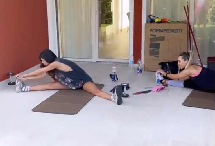 Belen allenamento