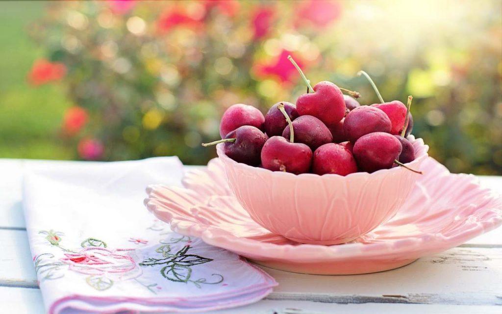 ciliegie caramellate