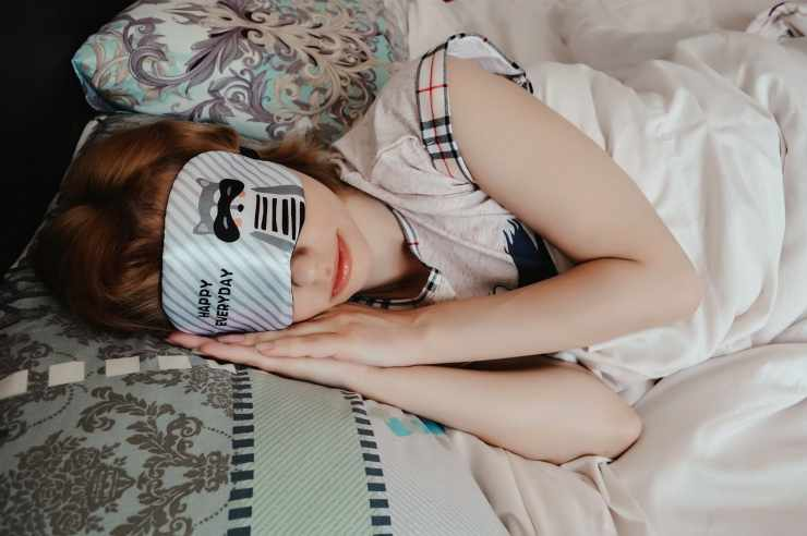 maschera per il sonno
