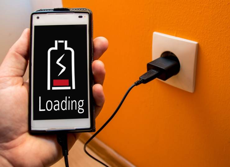 ricaricare smartphone velocemente